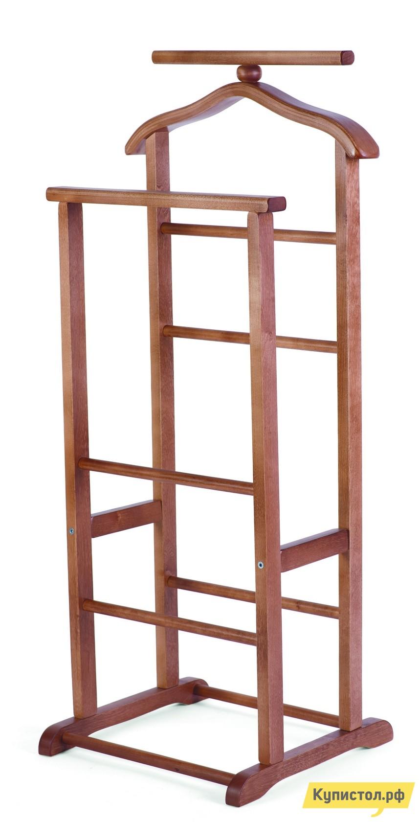 Костюмная вешалка Мебелик В-9Н (костюмная) Средне-коричневый