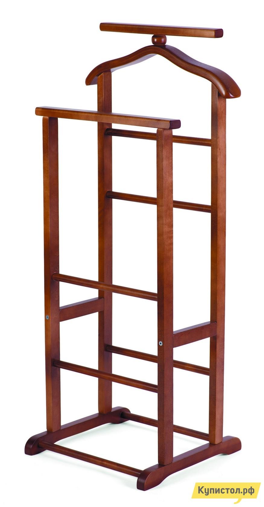Костюмная вешалка Мебелик В-9Н (костюмная) Темно-коричневый
