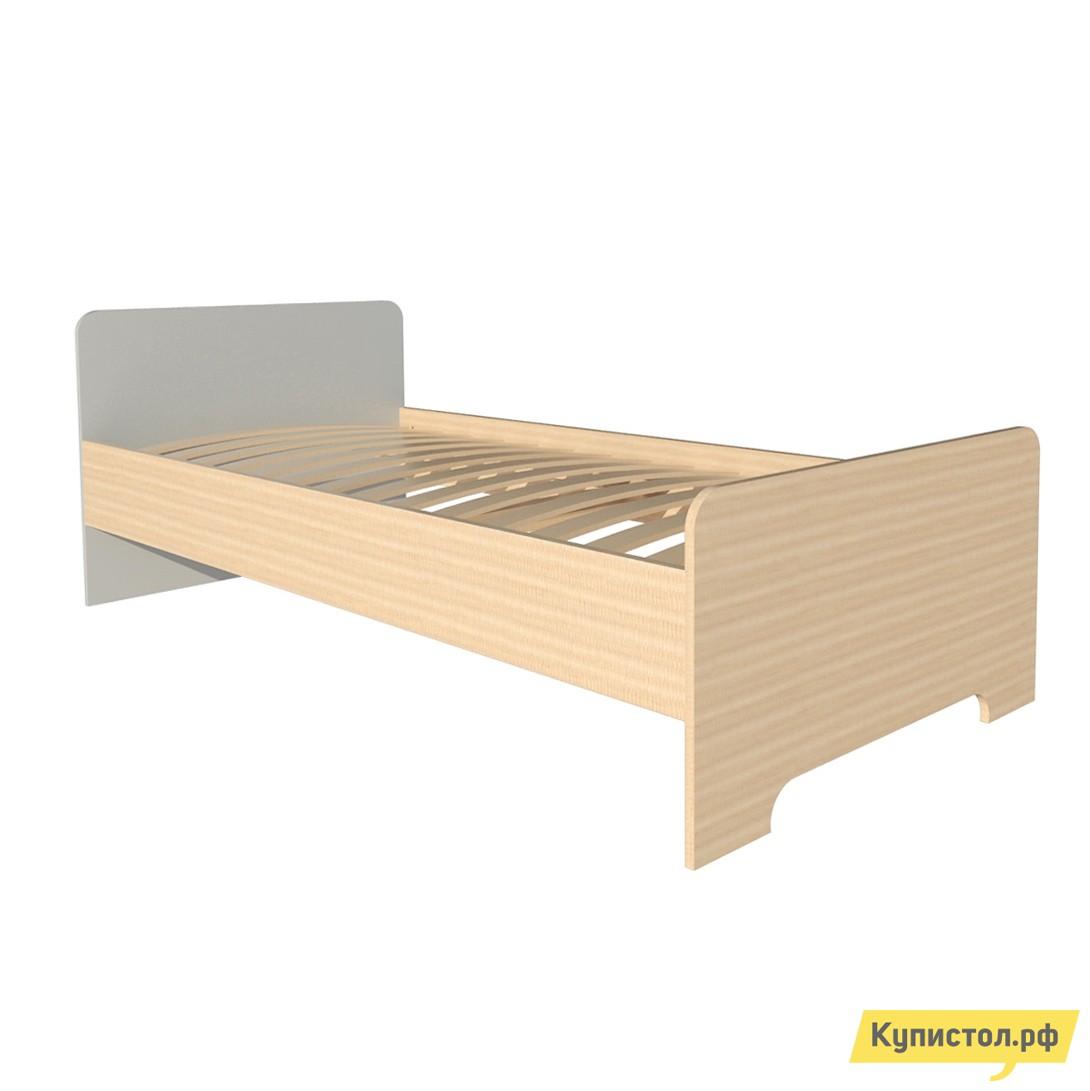 Детская кровать МО РОСТ Кровать односпальная Первой цены Мадейра / Серый