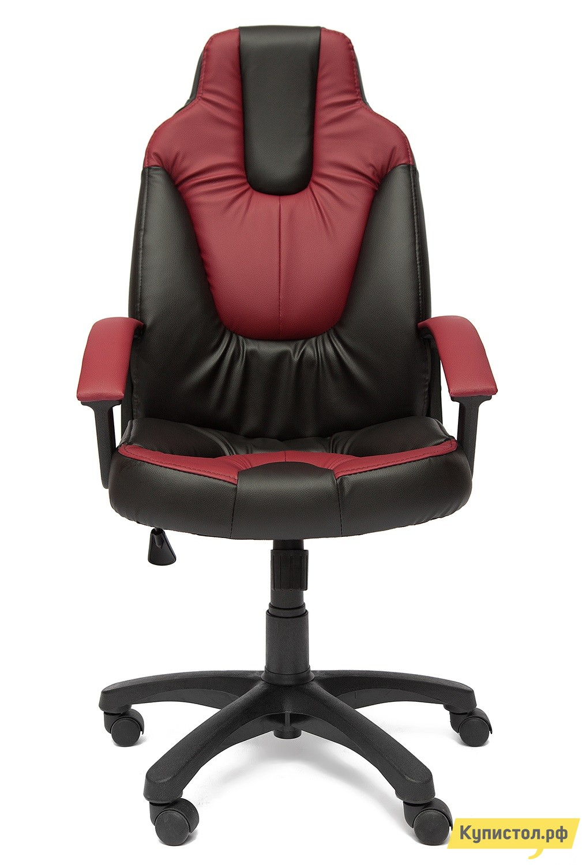 Компьютерное кресло Tetchair NEO (2) Иск. кожа черная / бордо