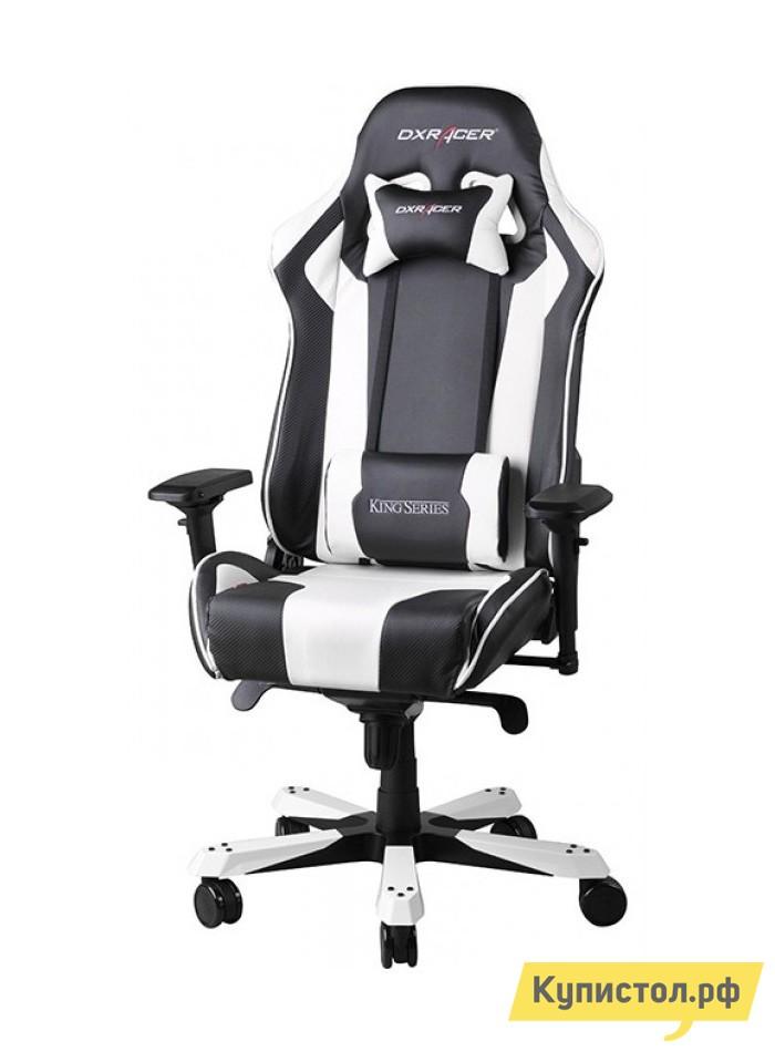 Компьютерное кресло DxRacer OH/KS06 Черный / Белый