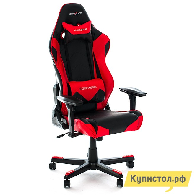 Компьютерное кресло DxRacer OH/RE0 Черный / Красный