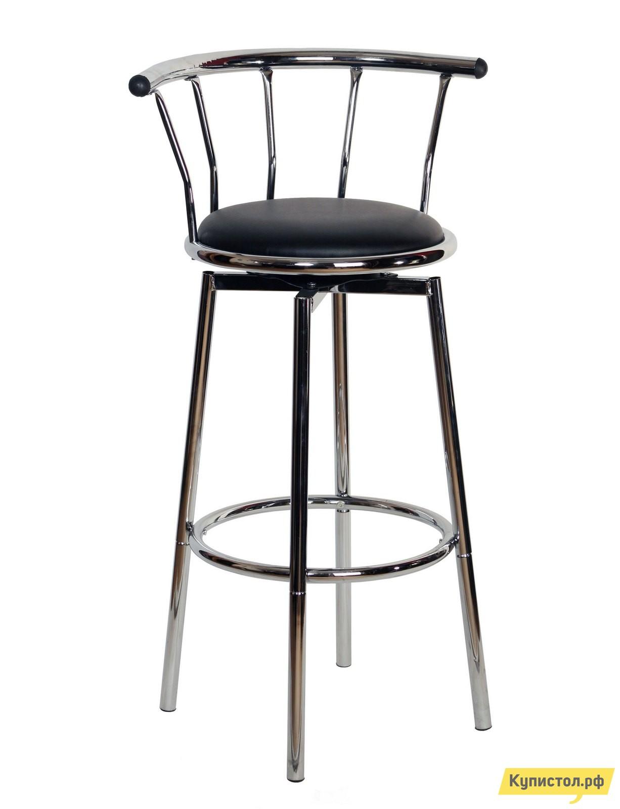 Барный стул STOOL GROUP Джин Хром Черный / Хром