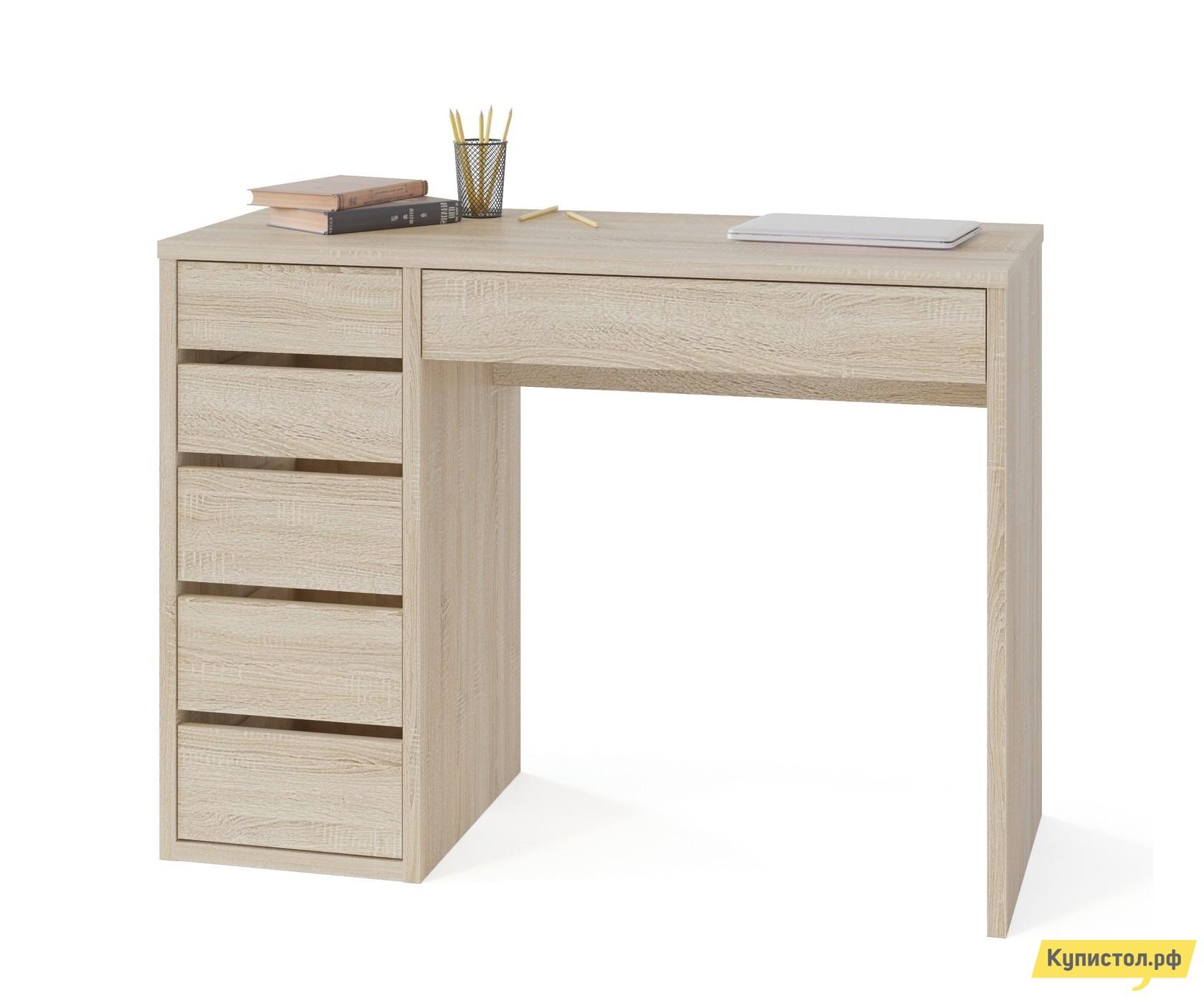 Письменный стол Тайга СПм-10 Дуб Сонома