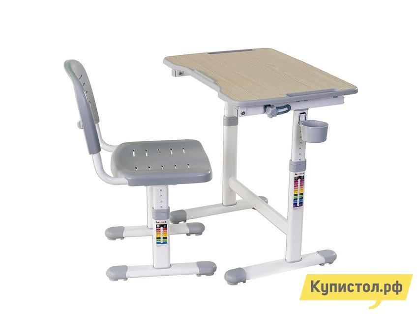 Парта Fun Desk PICCOLINO II Grey (серый)