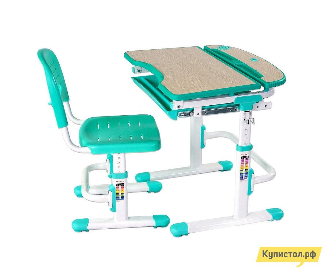 Парта Fun Desk Sorriso Green (зеленый)