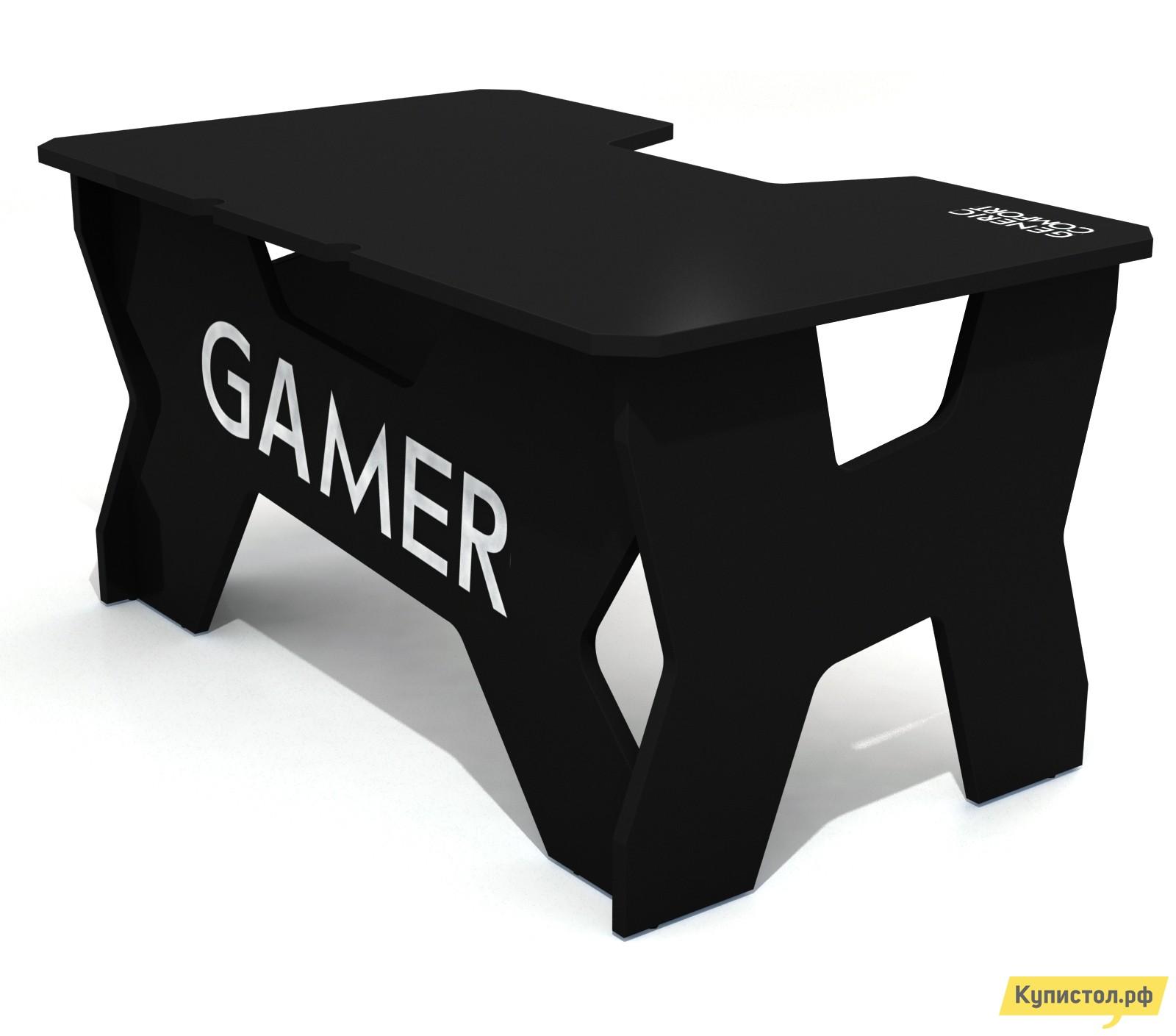 Компьютерный стол DxRacer Generic Comfort Gamer2/N Черный / Белый