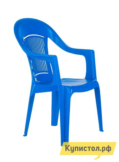 Пластиковый стул ЭЛП Кресло «Венеция» Синий