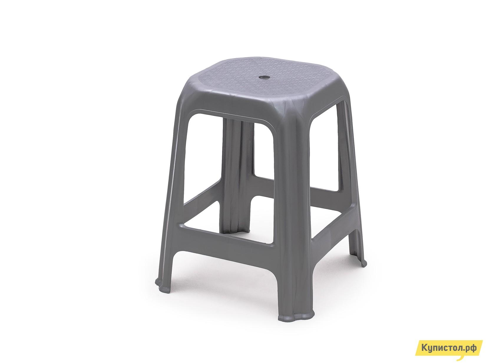 Пластиковый табурет АТР Стул (табурет) Серый