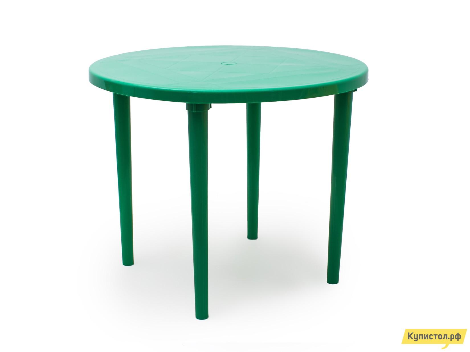 Пластиковый стол Стандарт Пластик Стол круглый