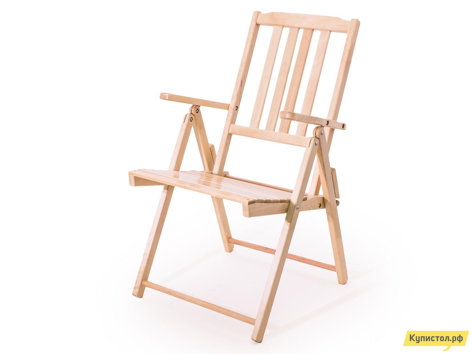Садовое кресло СМКА Комфорт СМ047Б Береза