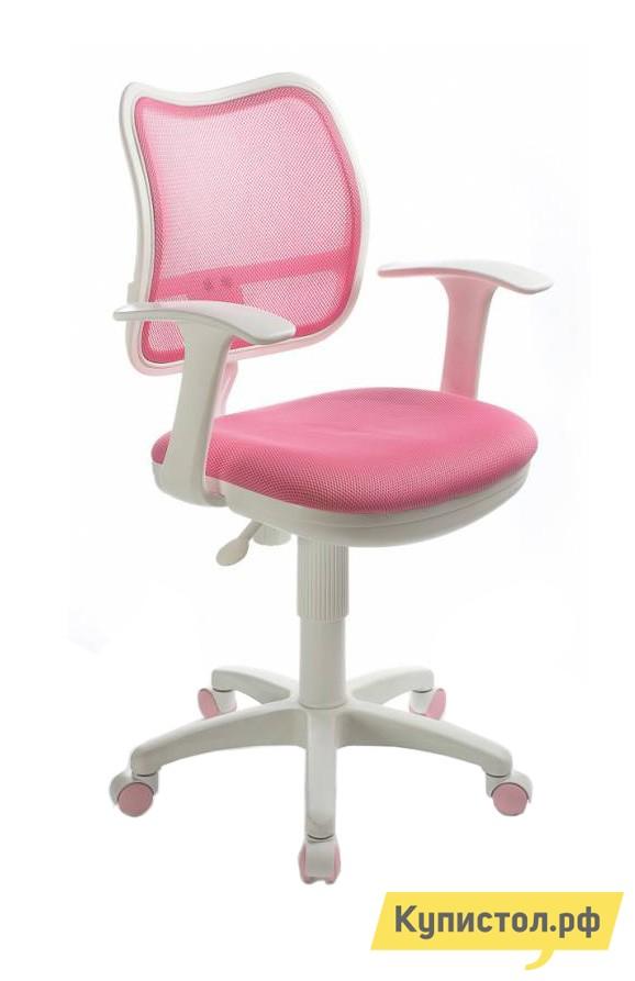Компьютерное кресло Бюрократ CH-W797 TW-13A розовый