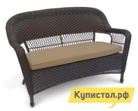 Плетеный диван Афина-мебель LV130-1 Brown