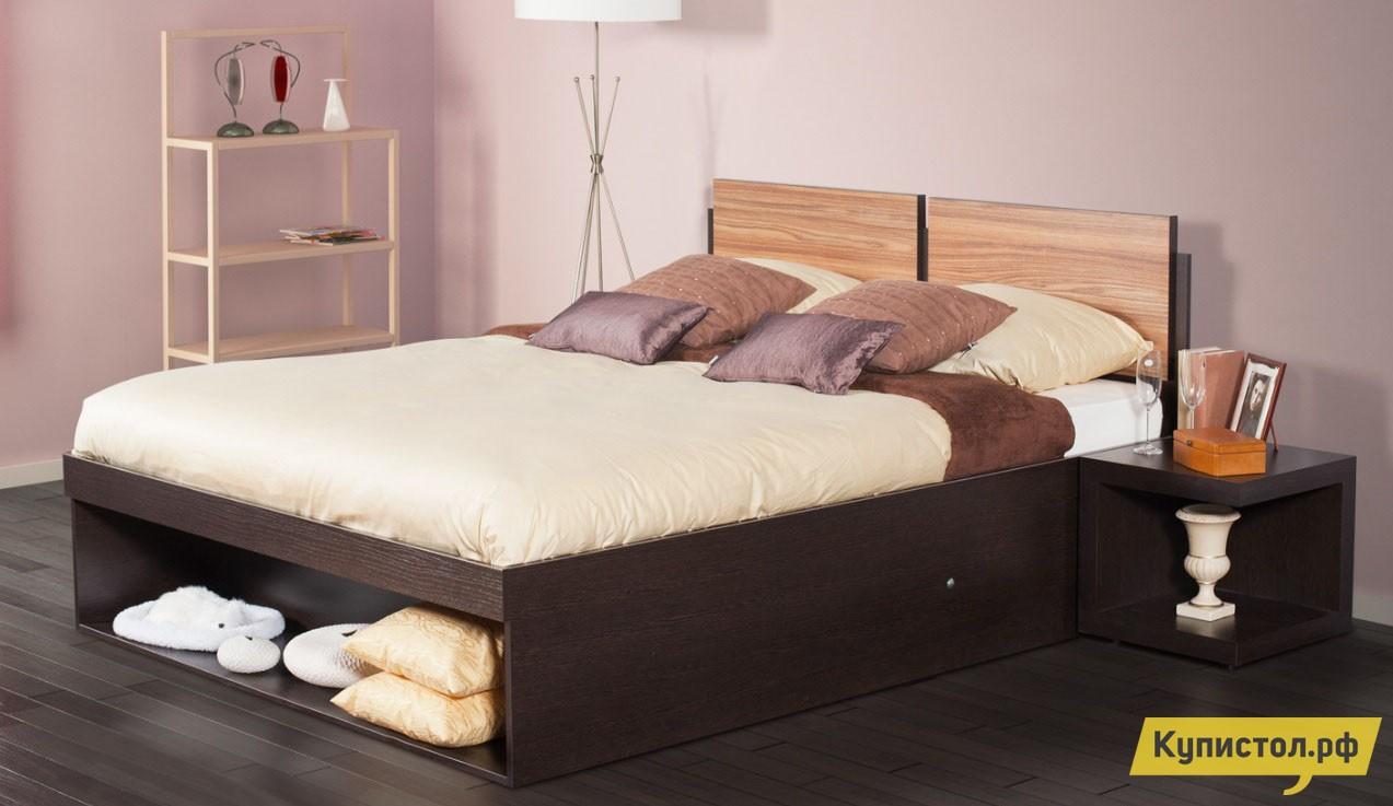 Кровать Глазов-Мебель HYPER (спальня) Кровать 1400 Х 2000 мм