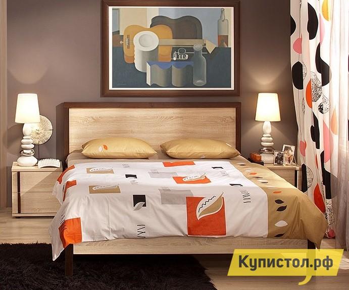 Кровать Глазов-Мебель BAUHAUS 1/2/3 1400 Х 2000 мм