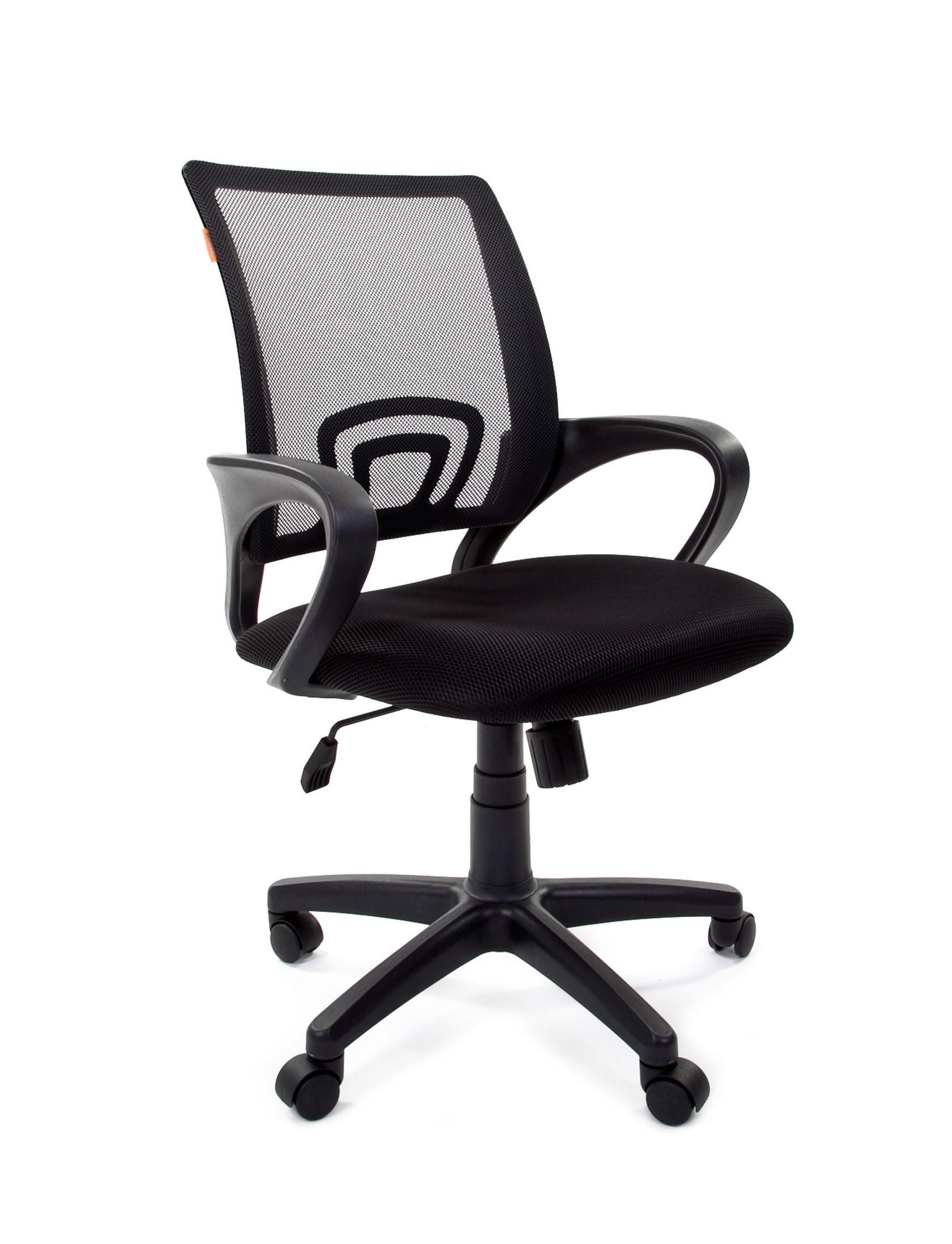 Офисное кресло Chairman CH 696 TW-01 / TW 11 черный